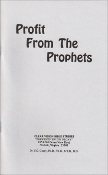 PROFIT FROM THE PROPHETS (FREE SHIPPING)